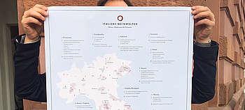 Poster A1 Italiens Weine