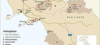 Die Weinkarten Italiens