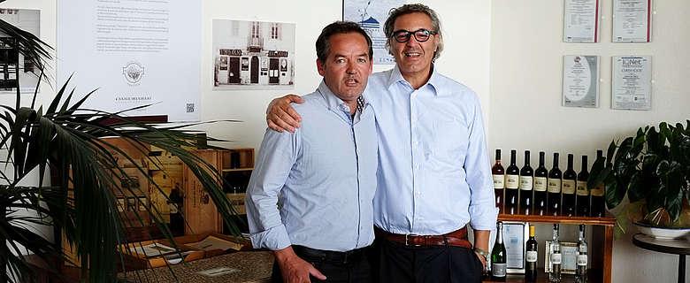 Italien-Wein-Rom-Antonio Sartarelli von Casale del giglio und Kellermeister