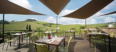 italien-Wein-Toskana-Weingut Villa Cerna-Chianti-Restaurant in Castellini