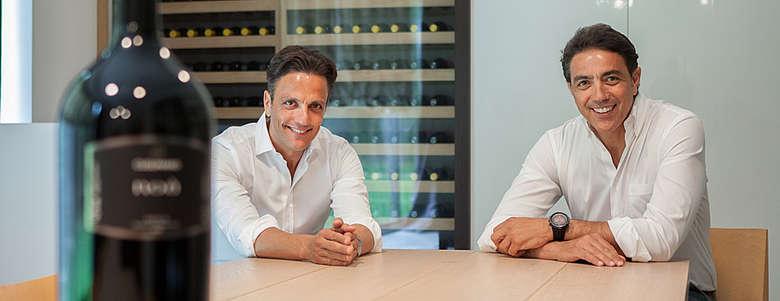 italien-Wein-Sizilien-WEingut Cusumano-Alta Mora am Etna-Besitzer Diego und Alberto Cusumano