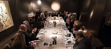 Italien-Wein-Kampanien-Feudi di San Gregorio-Präsentation der neuen Weine im bayrischen Hof in münchen