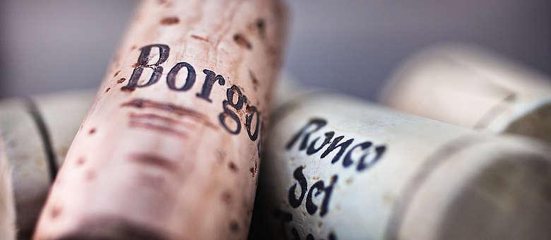 Borgo oder Ronco, das zeigt dem Kenner, das die Weine aus dem Friaul stammen, wo viele Weingüter diese Bezeichnung im Namen tragen