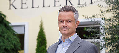 italien-Suedtirol-Wein-Kellerei Bozen-Klaus Sparer Geschäftsführer