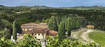 Ruffino Experience - Poggio Casciano vor den Toren von Florenz erzählt man die Geschichte von Ruffino