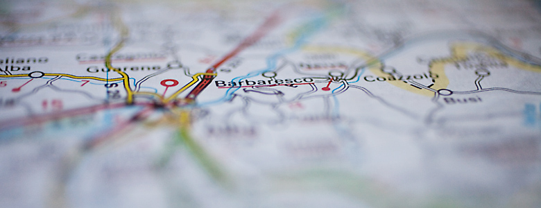 Piemont Weinbau Karte.Weinbaukarte Barbaresco Aus Dem Piemont