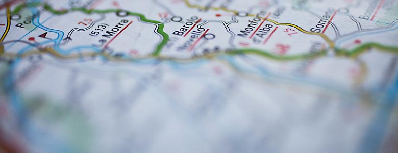 Piemont Weinbau Karte.Weinbaukarte Barolo Aus Dem Piemont